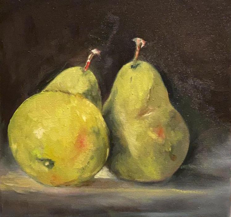 Stilleven fruit