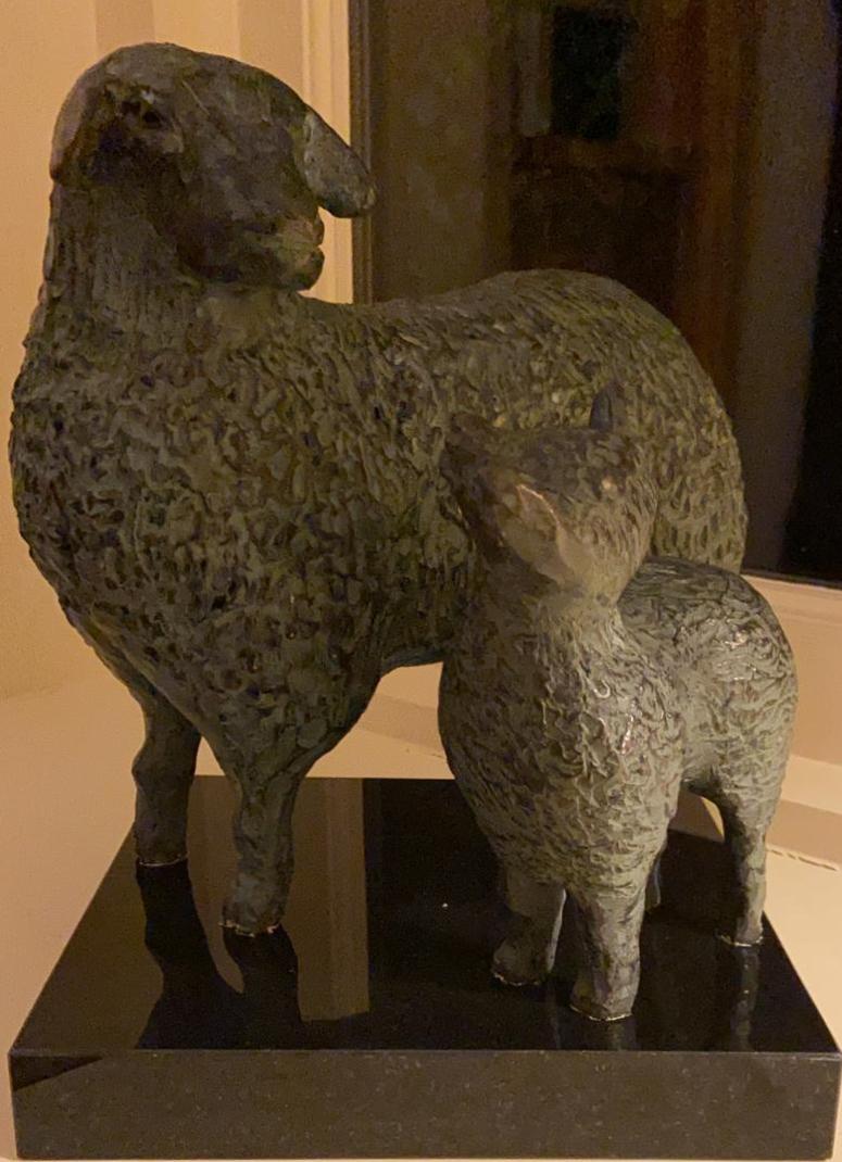 Schapen brons